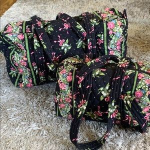 Vera Bradley, small duffel and mini duffel
